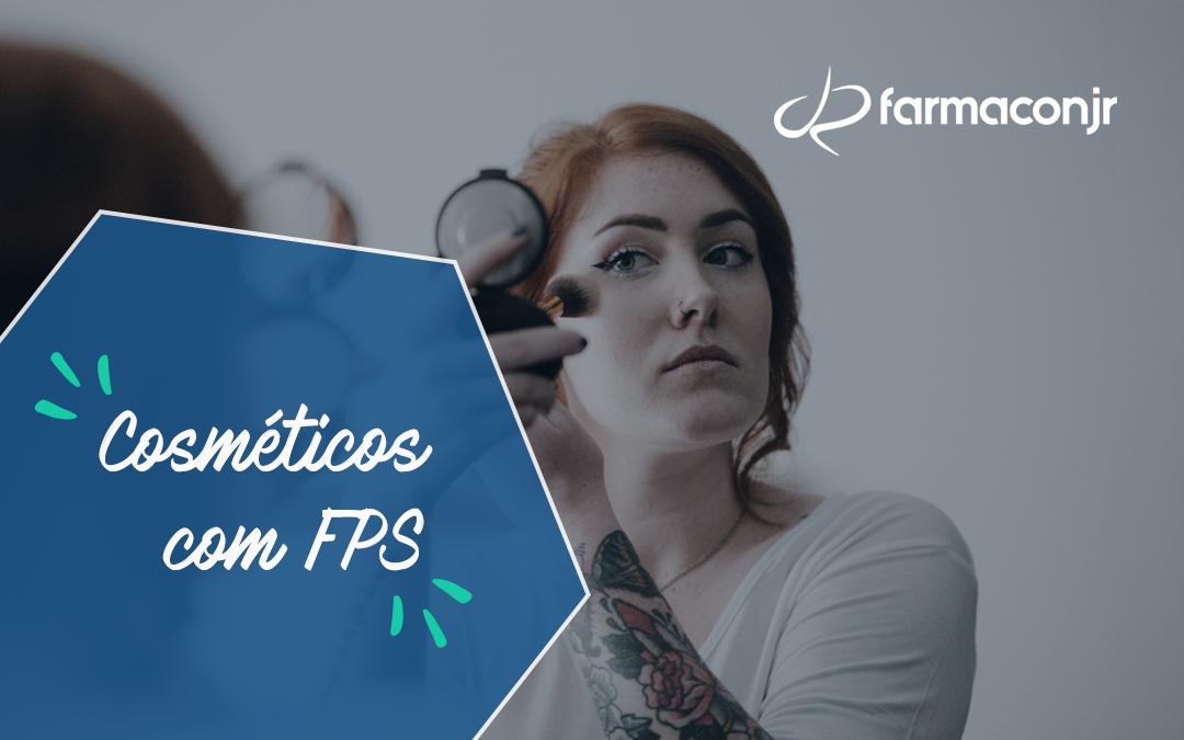 Cosméticos com FPS: aliados da fotoproteção