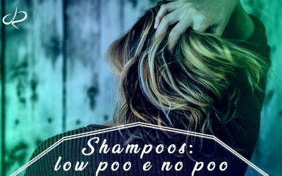 Shampoos: low poo e no poo