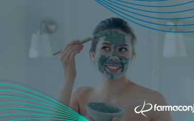 Efeitos cosméticos dos diferentes tipos de  argilas